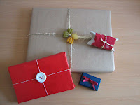 paquetes navideños/Christmas packaging