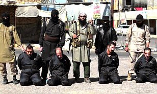 Four More Iraqi Spies Become The Latest Victims Of Isis Savagery Asthey Are Beheaded On Orders Ic Court