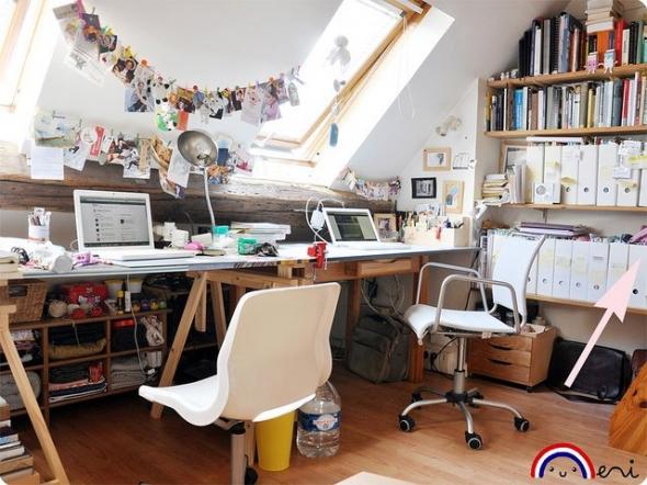 Ikea Komplement Schuhregal Weiß ~ Fabelhafte Design Tipps und Ideen für kleine und große Arbeitszimmer