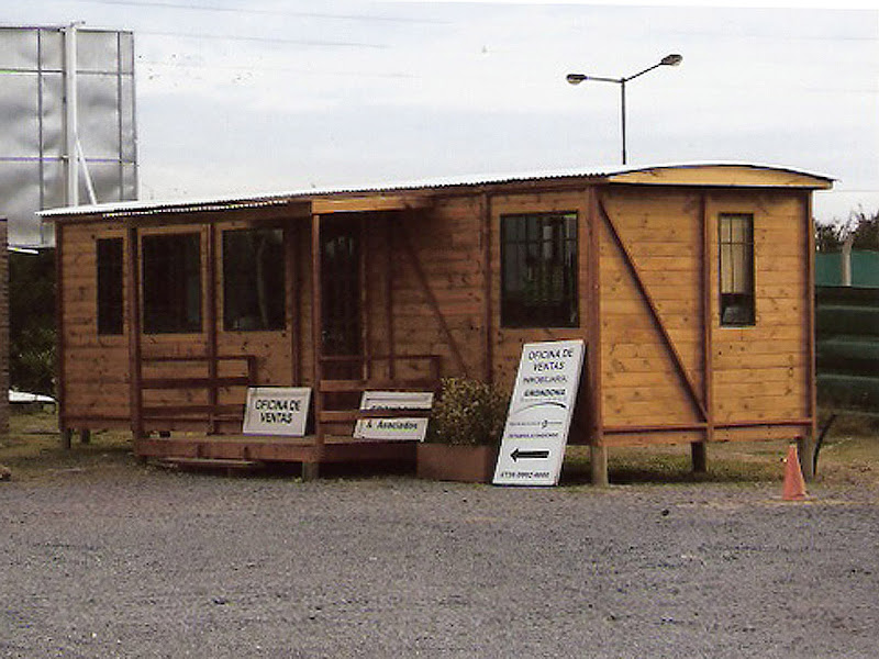 techo - Chapa acanalada para techo curvo de vagón Vagon-de-madera-oficina%2520kitvagon