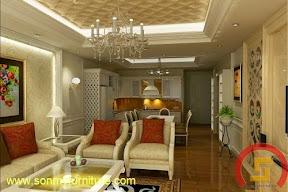 Mẫu thiết kế nội thất  căn hộ 7121