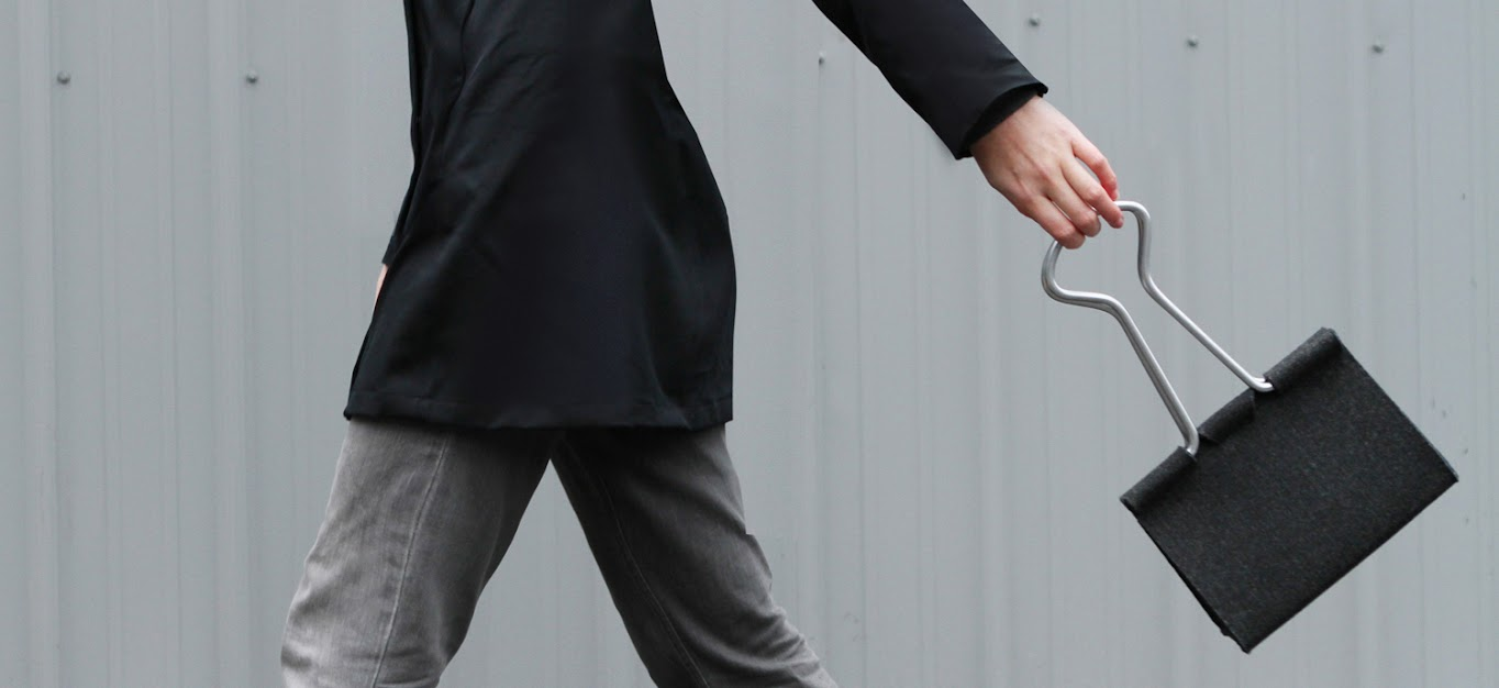 # Clip Bag長尾夾手提包:辦公文具與你形影不離! 1