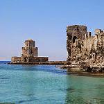 古代の海上要塞・メトーニ城
