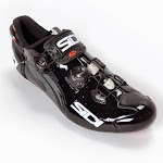 Sidi Wire Vent carbon shoes - Black Vernice at twohubs.com