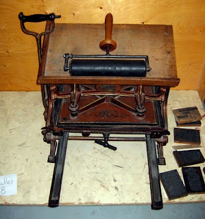 This Stanhope Press may have been used to print the 1922 Dene syllabic prayer book.