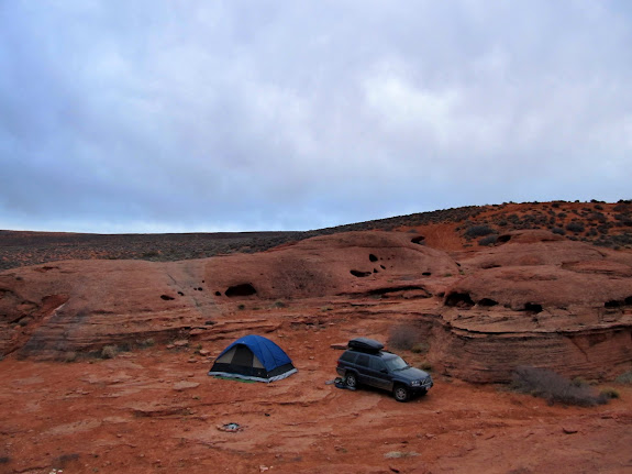 Camp on Sunday morning