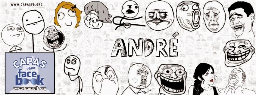 Capas para Facebook André