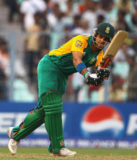 JP Duminy played an outstanding innings before being out at nervous 99, Ireland v South Africa, Group B, World Cup, Kolkata, March 15, 2011