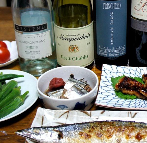秋刀魚とワインのオススメレシピ