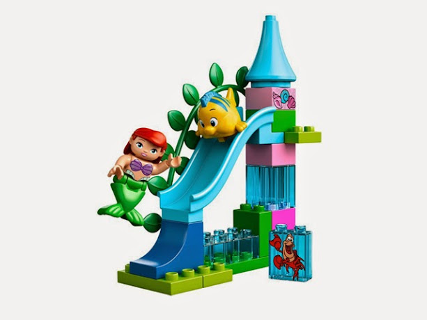 10515 レゴ デュプロ アリエルの海のお城