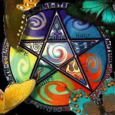 Some Magical Systems Connect Different Colors How To Draw The Pentacle Image