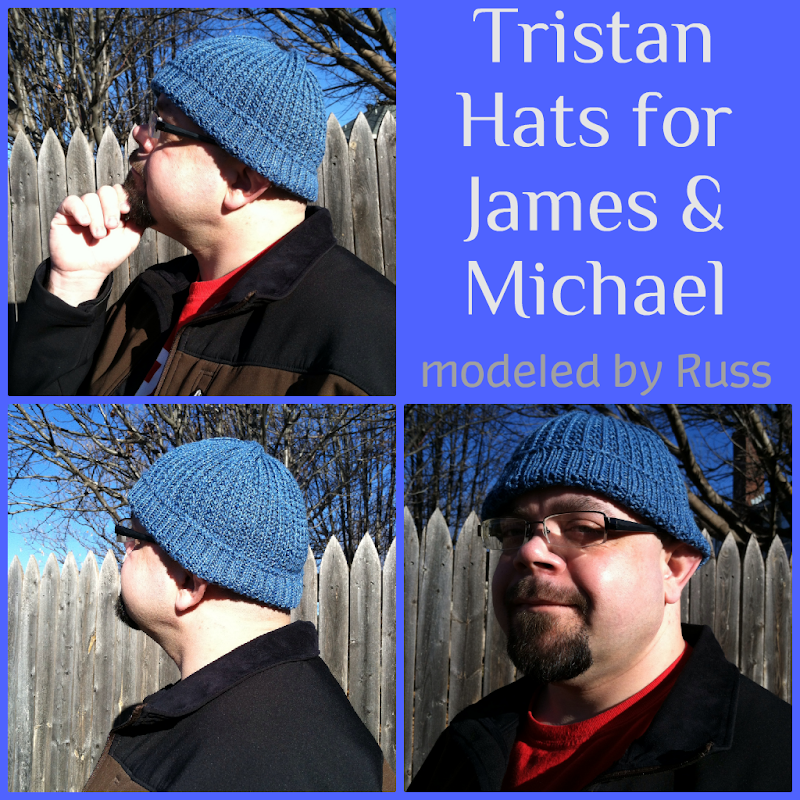 Tristan Hats for James and Michael