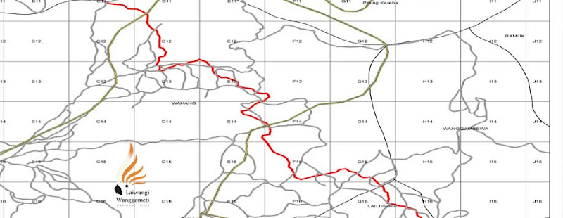 Sket Peta Blok Kelola TN Laiwangi Wanggameti