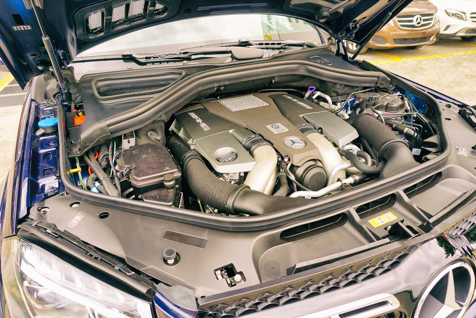 GLS 63 là siêu SUV mạnh chỉ sau xế siêu sang Bentley Bentayga