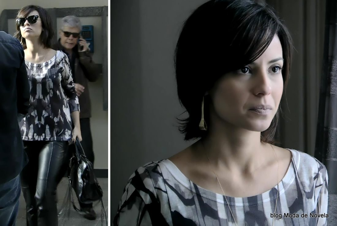 moda da novela Império, look da Maria Clara no dia 10 de dezembro de 2014