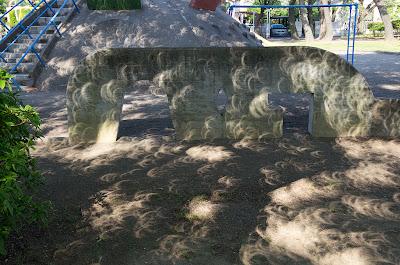 木漏れ日で見る金環日食(その4)