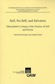 [Eltschinger/Ratié: Self, No-Self, and Salvation, 2013]