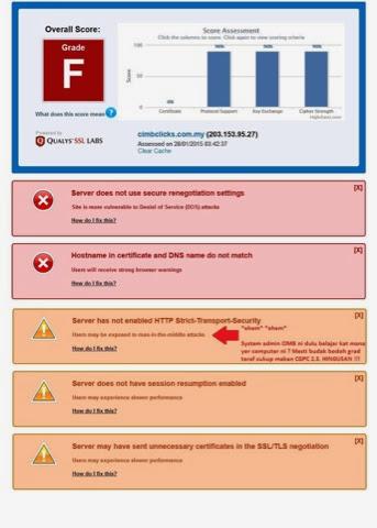 HOT Pengguna CimbClicks Dalam Bahaya