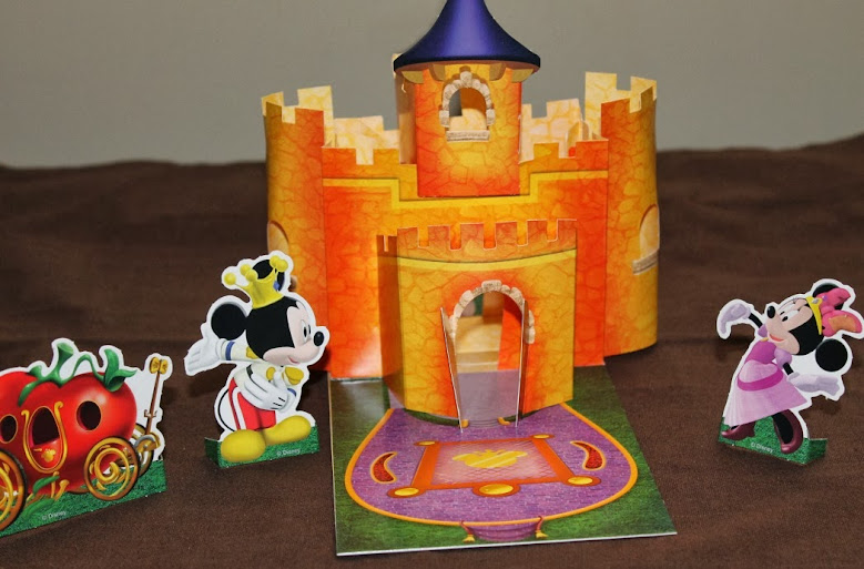 Minnie-rella Popup Castle Play Set - a Bonus WYB the Mickey Mouse Clubhouse: Minnie-rella DVD #Disney