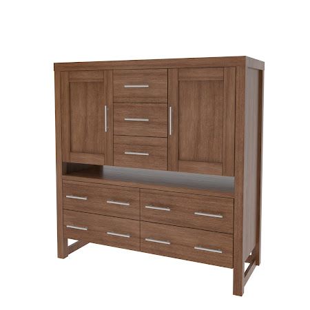 Sumatra Wardrobe Dresser, Royal Maple