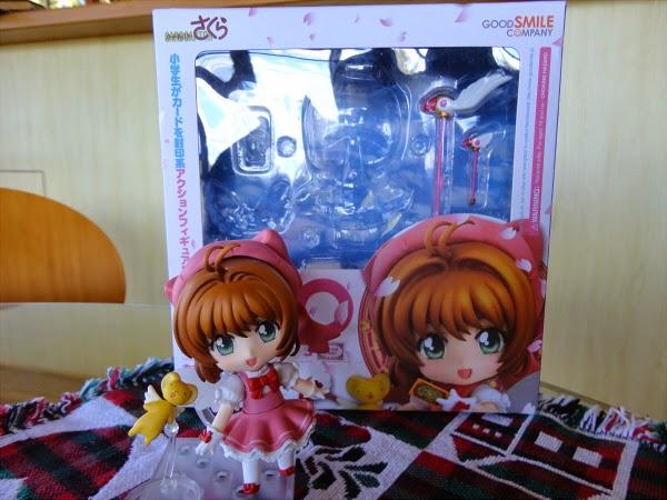 HOT  Nendoroid 400 Cardcaptor Sakura Sakura Kinomoto Figure Good Smile Comp