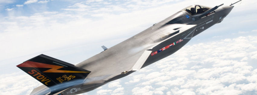 Lockheed martin f 35 lightning ii facebook cover