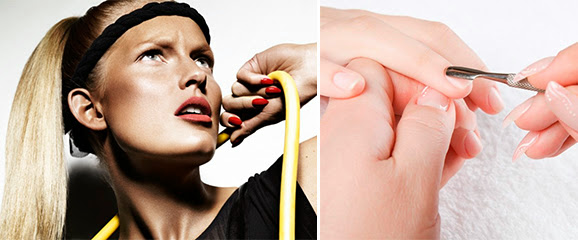 Acadêmia: como cuidar cabelos e unhas
