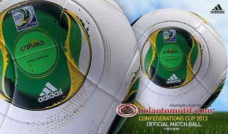 Bola Cafusa Piala Konfederasi 2013 Brasil