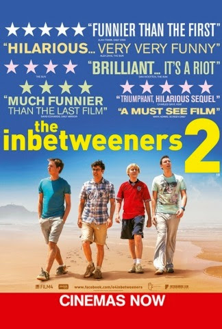 Poster Of English Movie The Inbetweeners 2 (2014) Free Download Full New Hollywood Movie Watch Online At Alldownloads4u.Com