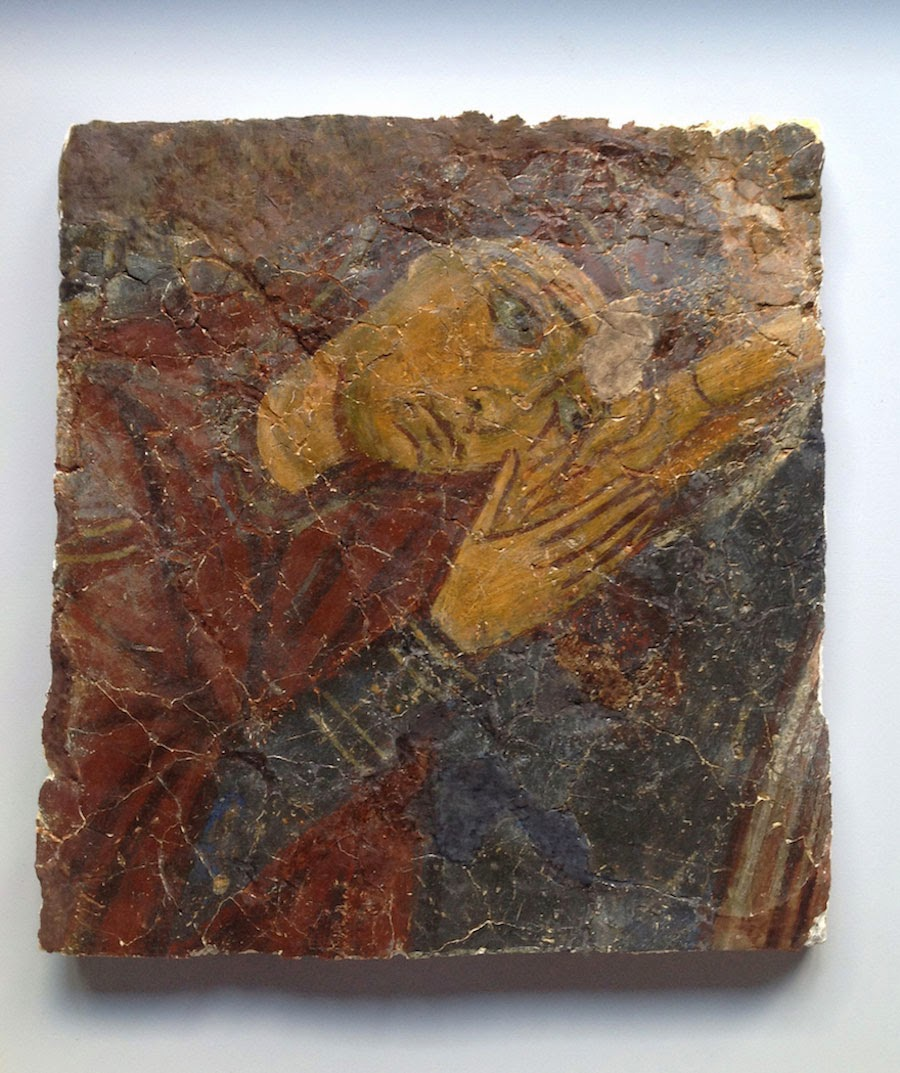 12th century Cypriot looted frescoes presented in London