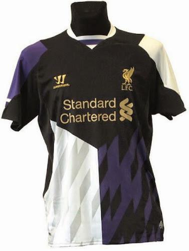 Liverpool 2014 alternative kit 3rd shirt