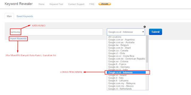 Screenshot 1 KR Gunakan Alat Gratis Ini untuk Riset Kata Kunci