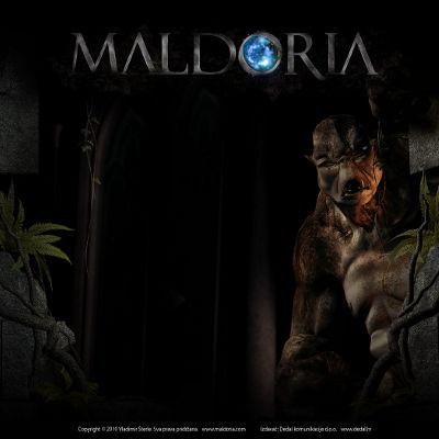 Članak o Maldoriji u dnevnom tisku
