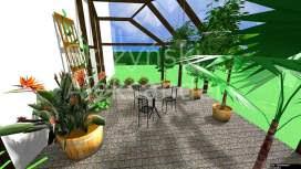 Projekt szklarni ogrodowej