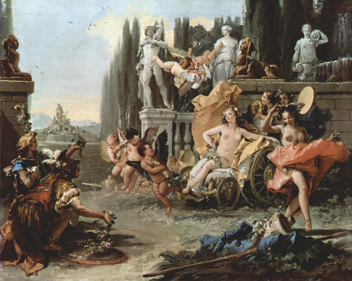Giovanni Battista Tiepolo - Triumph of Flora
