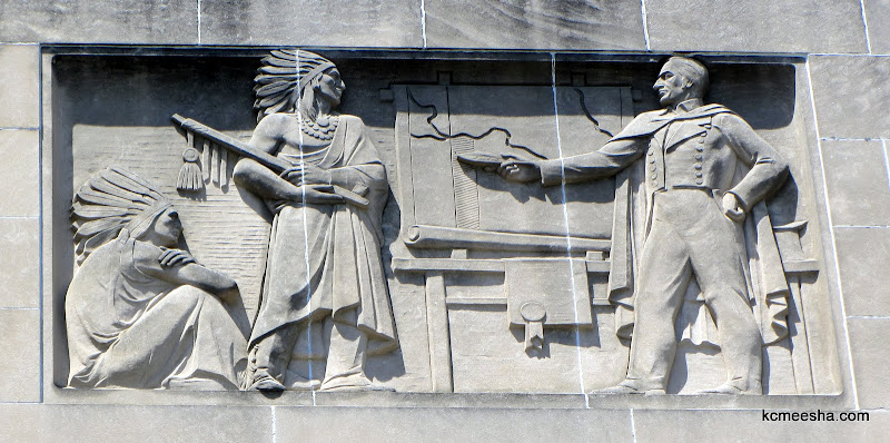 Reliefs On The City Hall In Kansas City