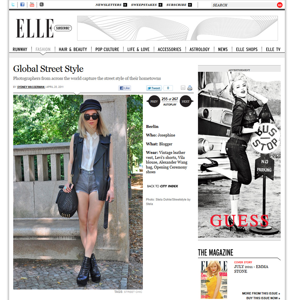 Ellecom Press Street Style By Stela