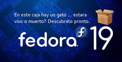 Fedora 19 RC1 disponible para pruebas