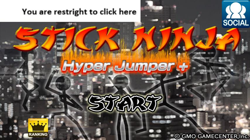 Stick Ninja Hyper Jumper | เกมส์มนุษย์เส้นนินจา วิ่งข้ามตึก | โหลดเกมส์แอนดรอยด์ฟรี