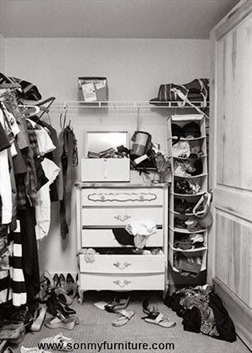Mách bạn cách biến chỗ bừa bộn thành tủ quần áo gọn gàng-7