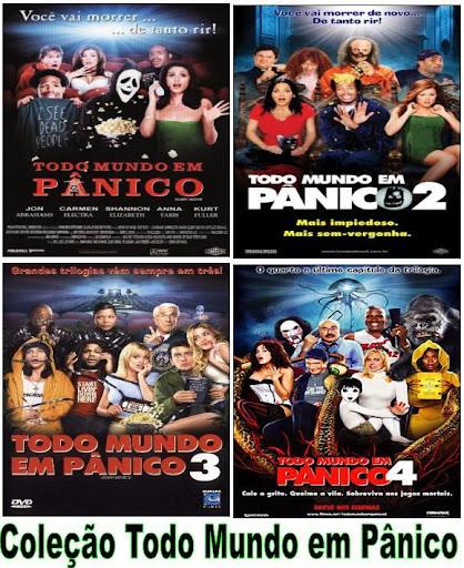 Download Quadrilogia Todo Mundo em Pânico DVDRip AVI RMVB Dublado