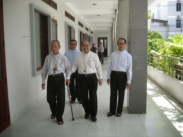 Đức Cha Phaolô Nguyễn Văn Hòa đến nghỉ dưỡng tại nhà Nghỉ Dưỡng Giáo Phận Nha Trang.