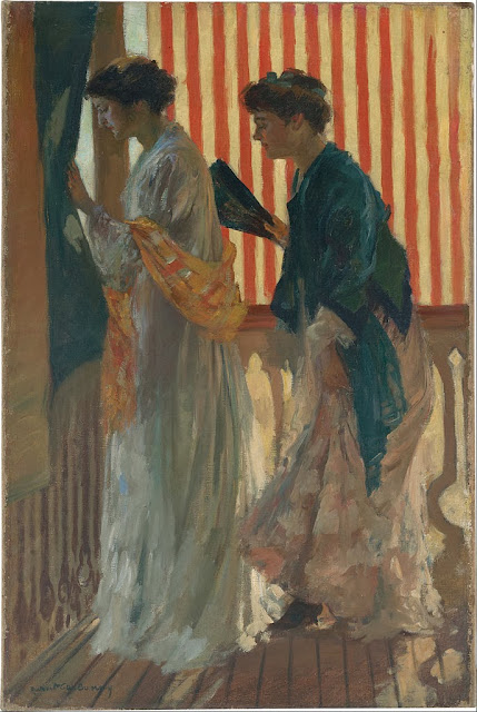 Rupert Bunny - Who comes - Google Art Project