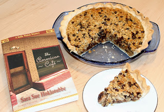 Aunt Vera's Chocolate Oatmeal Pie: Sara Sue Hoklotubbe