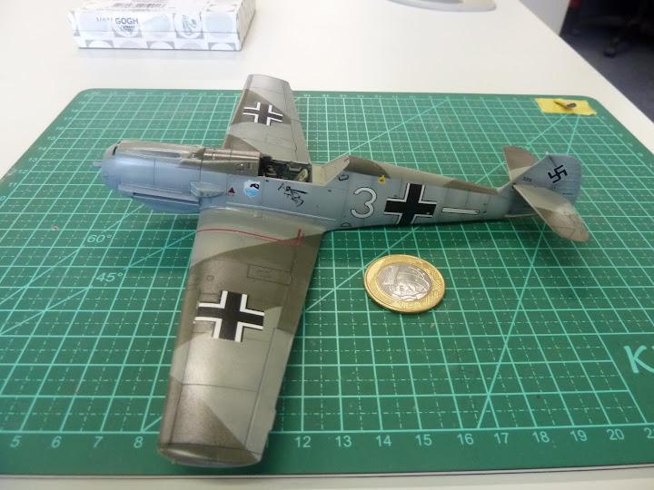 Bf-109 E-3 Tamiya 1/48 - Reforma pintura P1020498