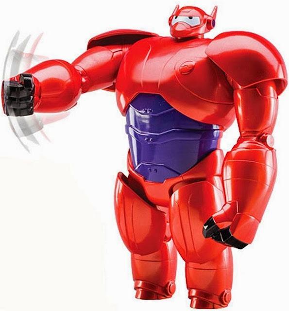 Đồ chơi Armored Baymax Big Hero 6 loại 10'' mang dáng dấp của một siêu anh hùng