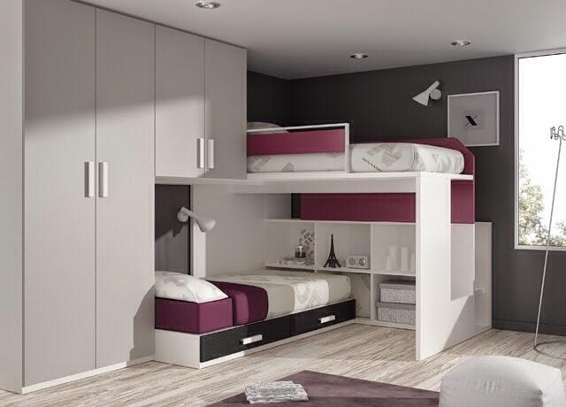 Dormitorios juveniles kids touch ros - Habitaciones infantiles tren ...