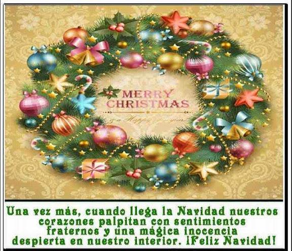 hermosos mensajes de navidad y año nuevo
