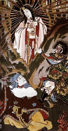 Japanese Goddess Amaterasu Image