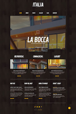 Architectural & Design Projects WordPress Theme
